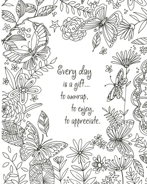 Click To Enlarge HomeCare Packages Believe Hope Dream Adult Coloring Book
